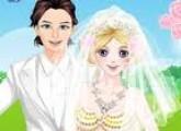 لعبة زفاف السا ملكة الثلج
