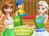 لعبة الفرح طبخ الساندويتش الطازجة