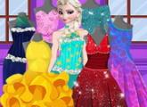 لعبة تصميم ملابس إلسا الحب
