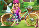 لعبة دراجة ربانزل الجديدة