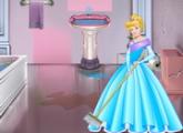 لعبة سندريلا و ترتيبات الحمام الحديثة