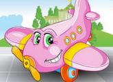لعبة غسل طائرة المطار