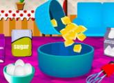 لعبة  فطيرة الطبخ الفاكهة