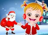 لعبة بيبى هازل مفاجأة عيد الميلاد