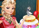 لعبة عيد ميلاد إلسا المجمدة