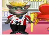لعبة تلبيس القط توم الناطق الملك العادل