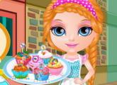 لعبة طفل باربي الكعك ليتل المهر الحديثه