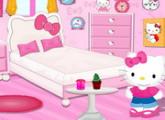 لعبة ديكور غرفة مرحبا كيتي الجديدة