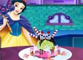 لعبة لعبة سنو وايت وتحضيرالآيس كريم وكعكة هالوين