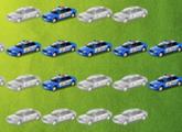 لعبة سيارات الشرطة الحديثه