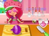 لعبة درس طبخ حساء الفراولة