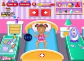 لعبة طفل  ديزى المريضة