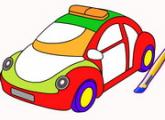 لعبة تلوين سيارات العاب الاطفال