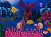 لعبة هروبا الكنزمن عالم تحت الماء