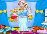 لعبة ترتيب غرفة طفل الملكة السا