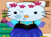 لعبة تلبيس المجمدة القطة مرحبا كيتي