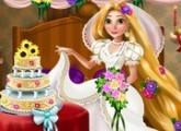 لعبة ترتيب ديكور زفاف الاميرة ربانزل