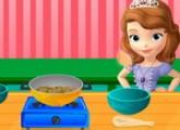 لعبة طبخ الخضروات مع صوفيا