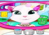 لعبة تنظيف أسنان القطة أنجيلا