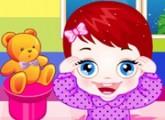 لعبة رعاية واهتمام بالطفل الجميل لولو