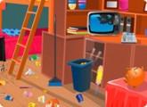 لعبة ترتيب وتنظيف المنزل الكبير