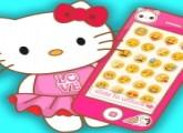 لعبة ايفون مرحبا كيتي الوردي