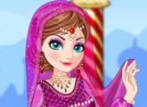 لعبة تلبيس السا ملكة الثلج الساري الهندي في الهند