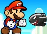 لعبة ماريو يتحدي الصواريخ فلاش اون لاين