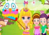لعبة تصميم ازياء اطفال باربي