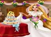لعبة تجهيز وترتيب ديكور زفاف ربانزل
