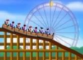 لعبة ارسم مسار قطار الملاهي