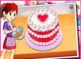 لعبة طبخ الكيكة الحمراء المخملية مع الشيف سارة